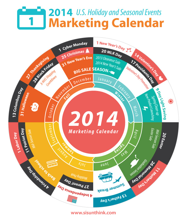 Internet Marketing | 2014 Marketing Calendar